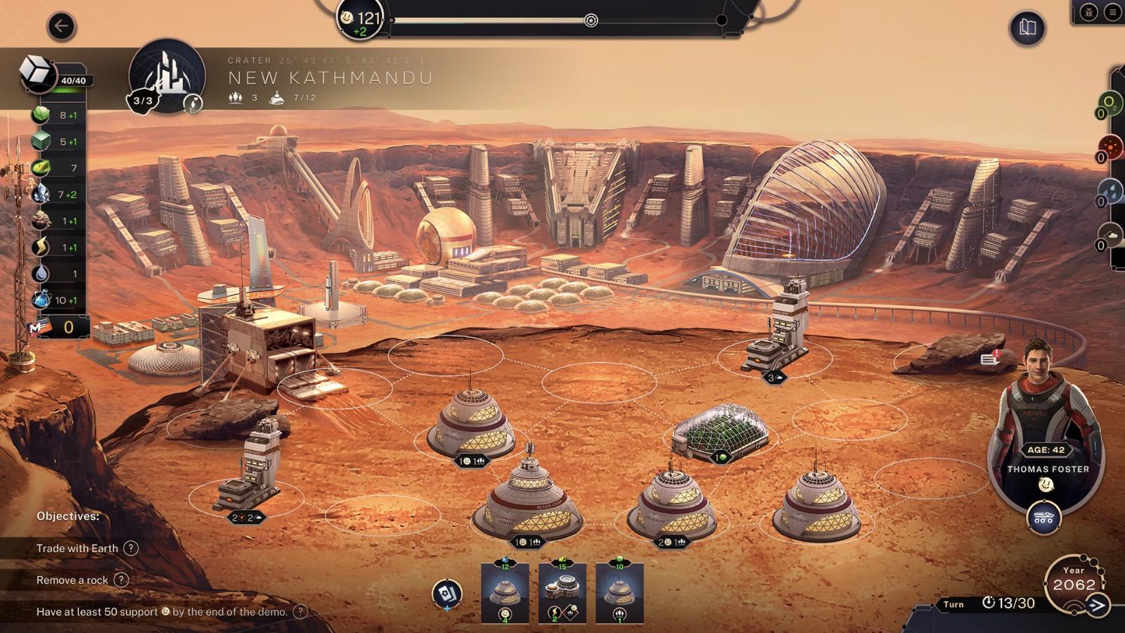 火星建设策略游戏《Terraformers》2022年登陆PC和NS
