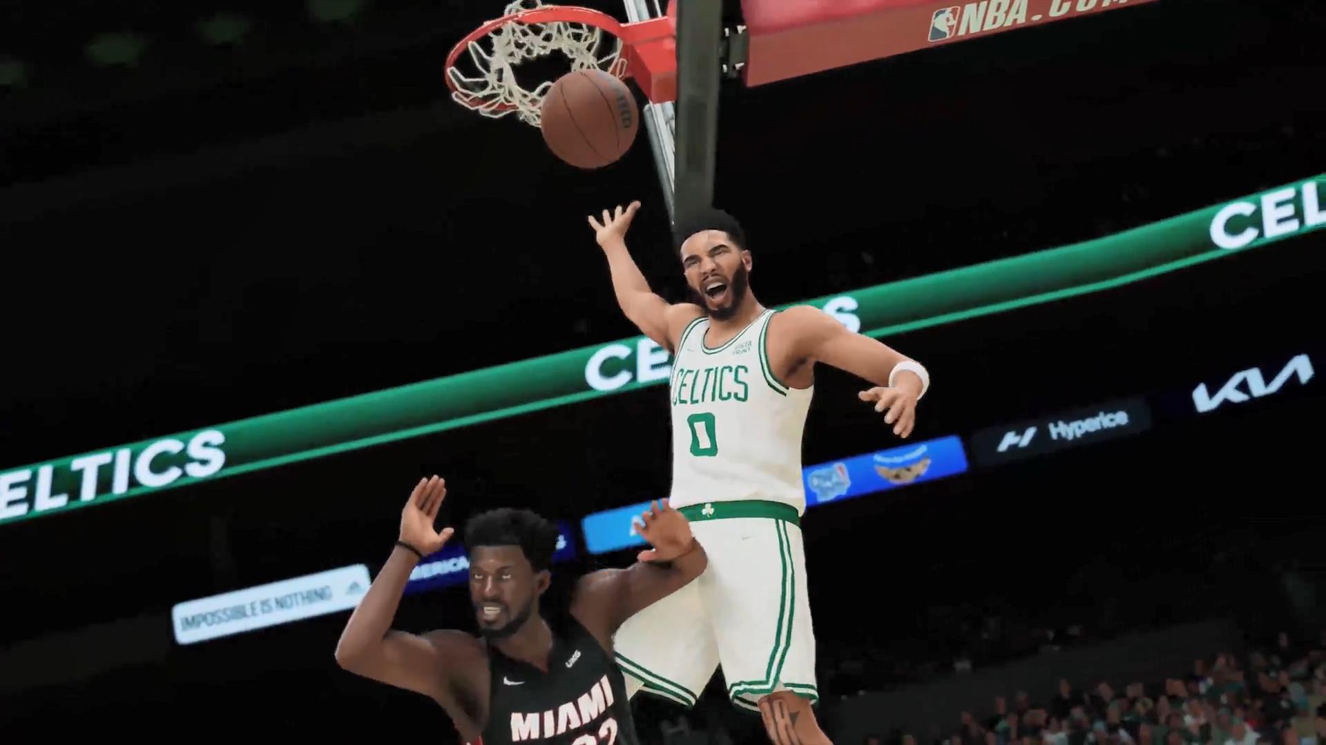 《NBA 2K22》实机演示预告片 9月10号正式发售