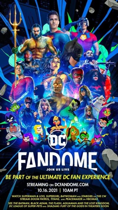 DC FanDome预告片发布 包括《哥谭骑士》《X特遣队》等新作情报
