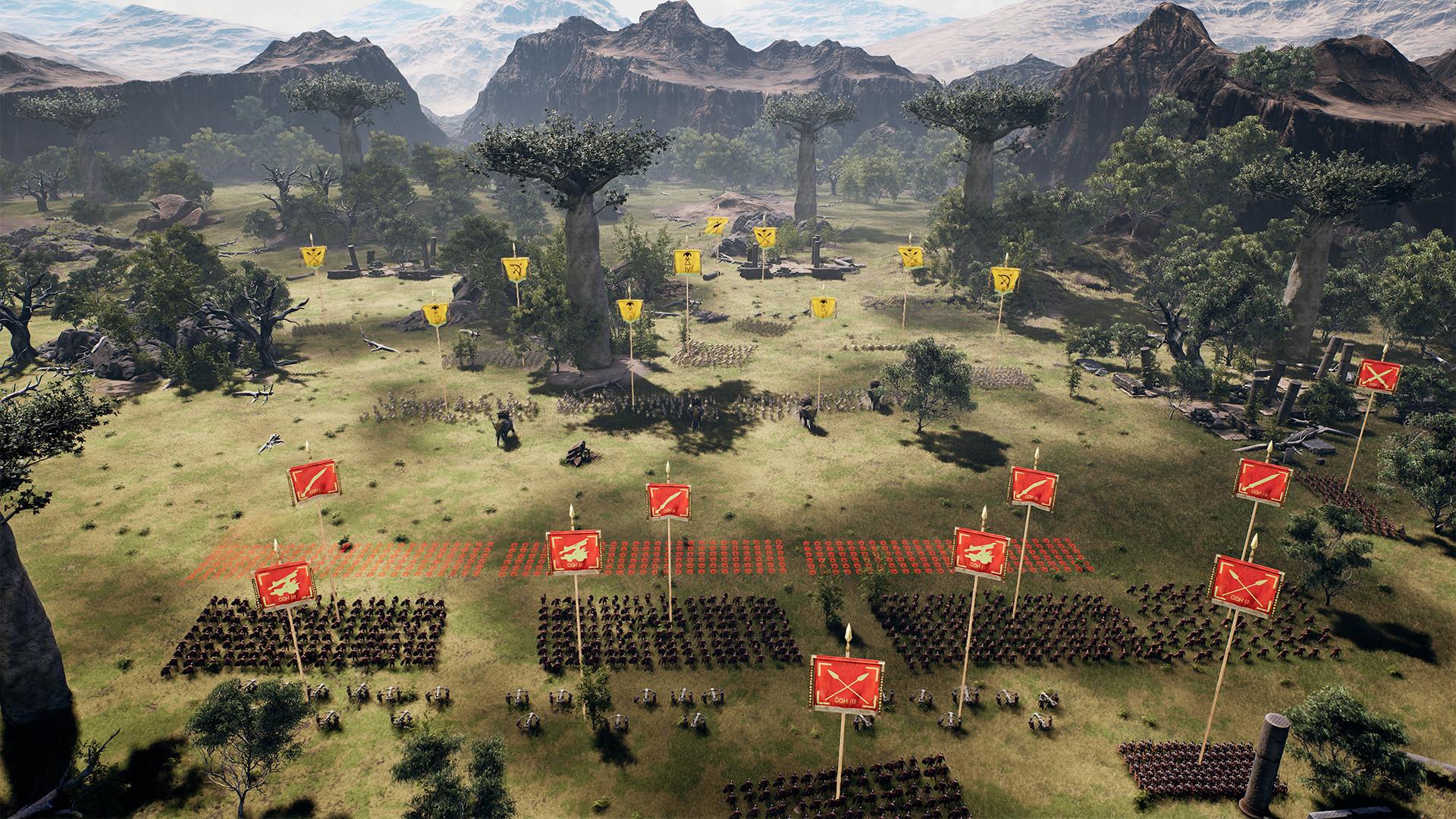 《罗马帝国战争》首部预告片公布 征战四方!
