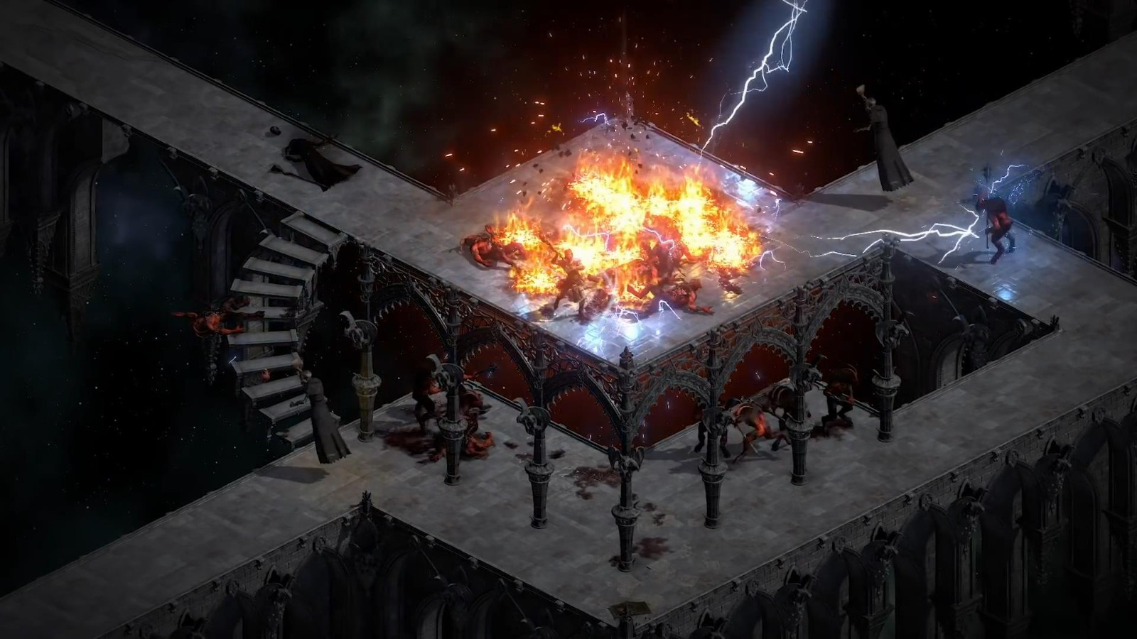 《暗黑粉碎神2:重制版》法师预报 战力刁悍轻松杀敌