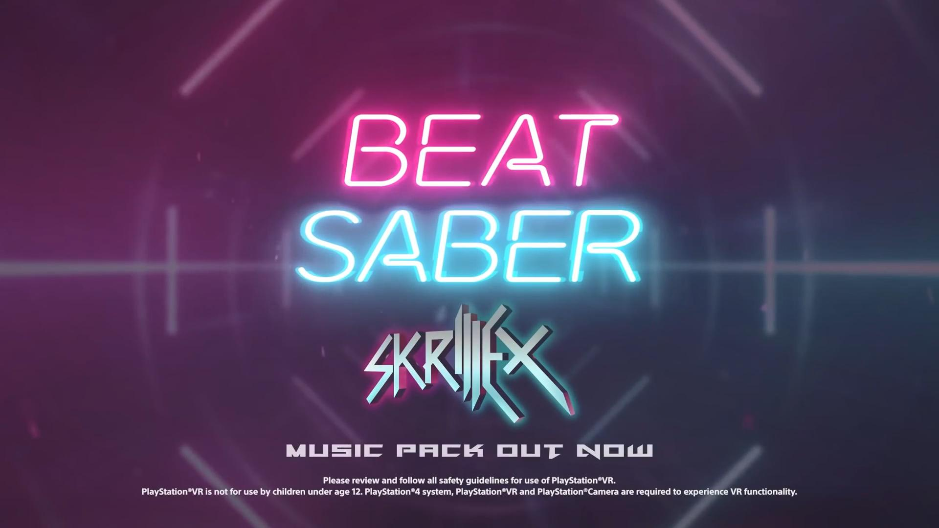 《节奏光剑》Skrillex曲包上线 8首歌曲合集仅售60元