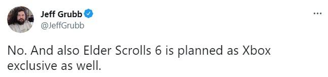 消息称称《上古卷轴6》也是Xbox(微软)独占 该作目前仍处设计阶段