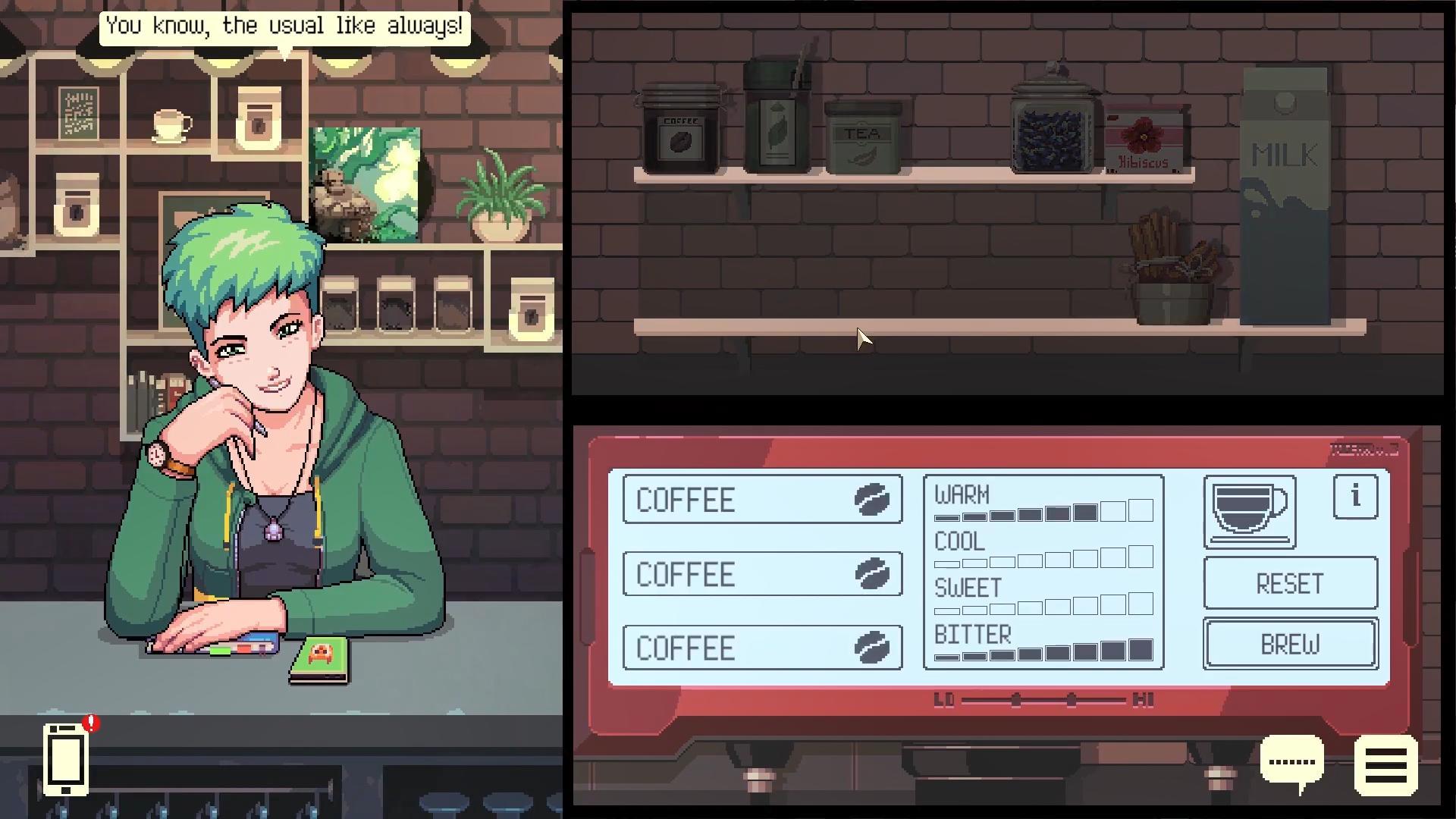 咖啡冲调模拟游戏《Coffee Talk》确认推出续作 2022年发售