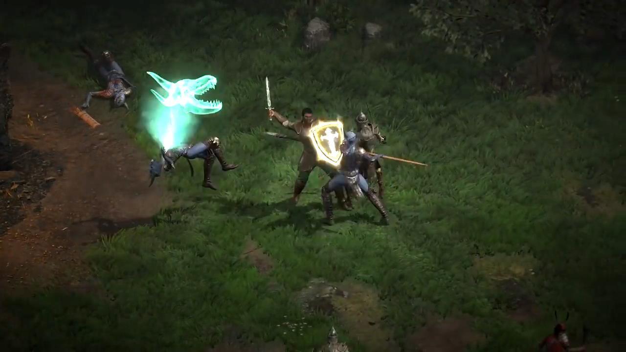 《暗黑粉碎神2:重制版》圣骑士预报 崇高兵士涤荡恶魔
