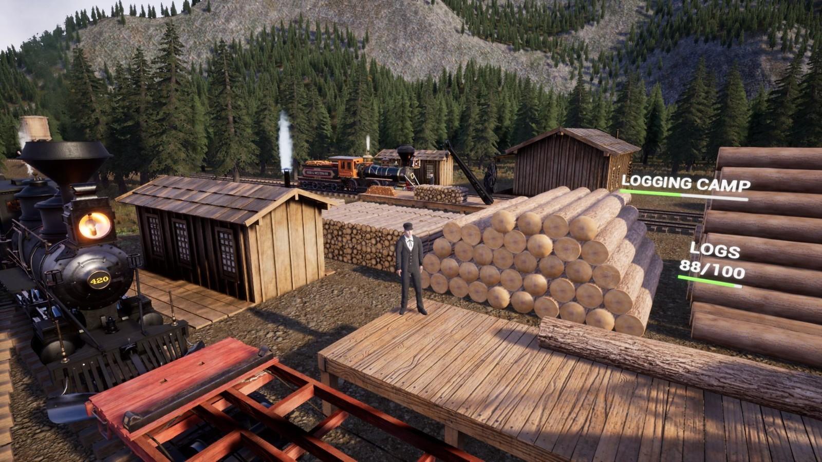 铁路模拟游戏《铁路在线》10月2日登陆Steam抢先体验