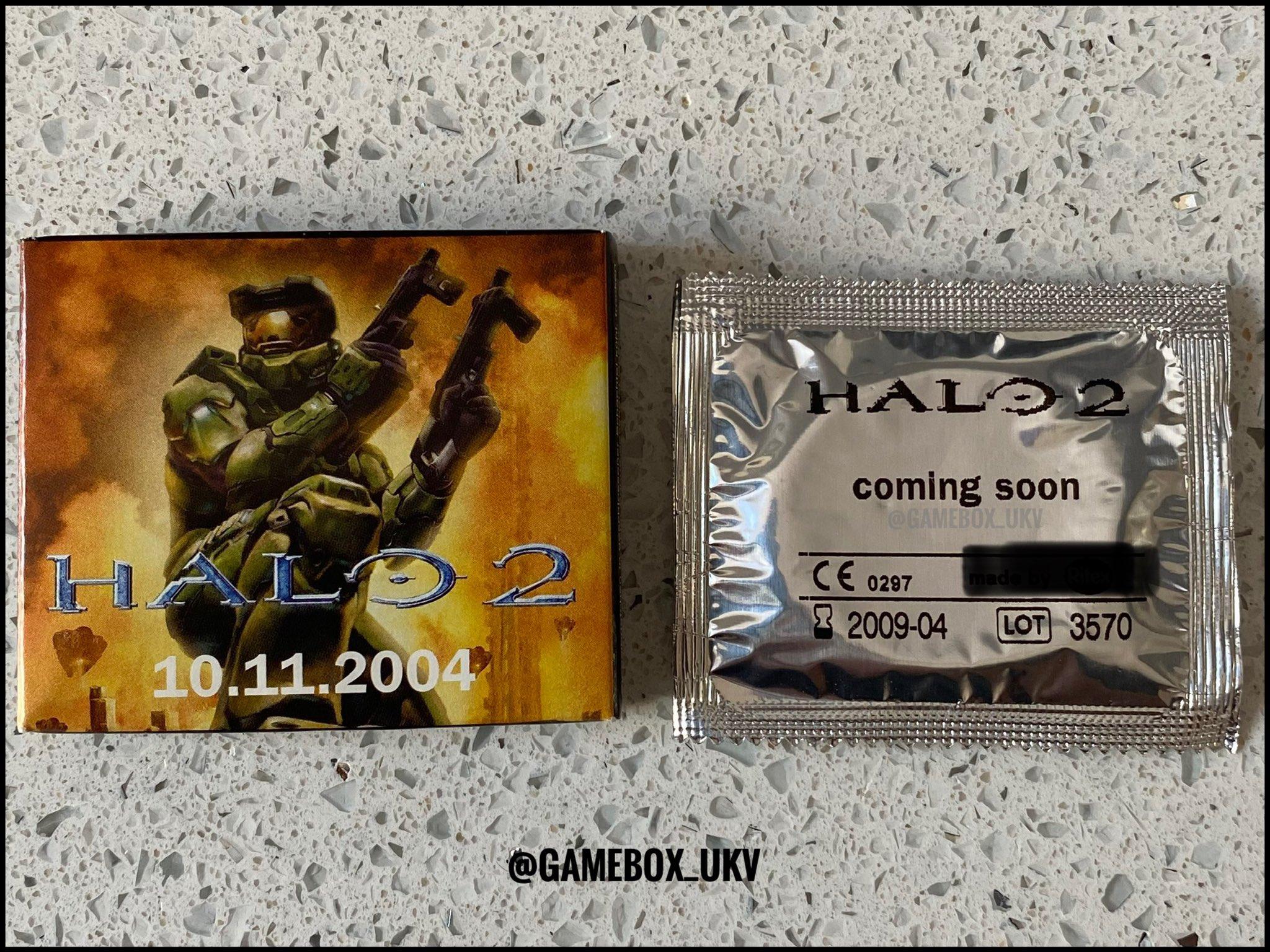 Xbox死忠粉晒出17年前《光环2》官方安全套