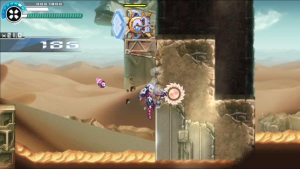 2D动作游戏《银白钢铁伊克斯2》公布 将登陆主机于PC平台
