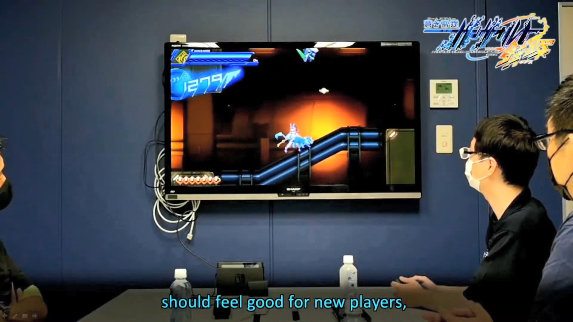 《苍穹雷霆 Gunvolt 3》确定2022年夏季发售 目前开发工作已基本完成