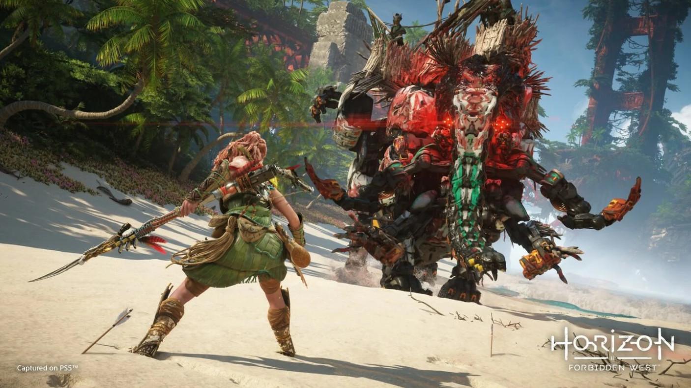 《地平线:西部禁域》PS4规范版没法进级到PS5版