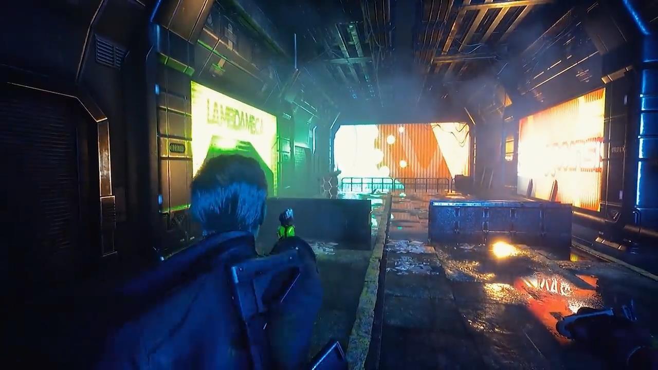 赛博朋克动作游戏《警戒2099》新预告 虚幻5强悍