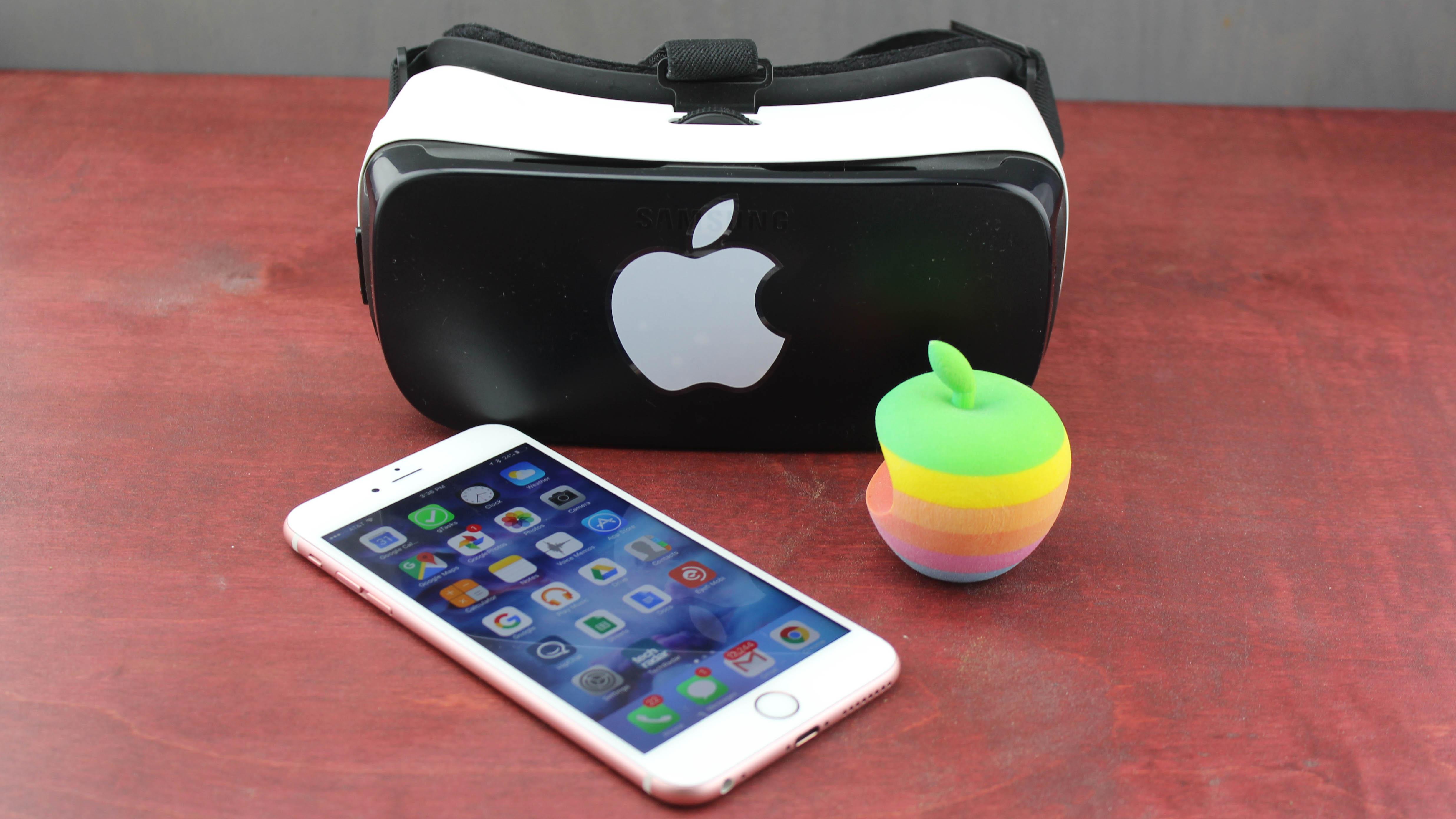 苹果的VR/AR头显或须要依靠于iPhone或iPad