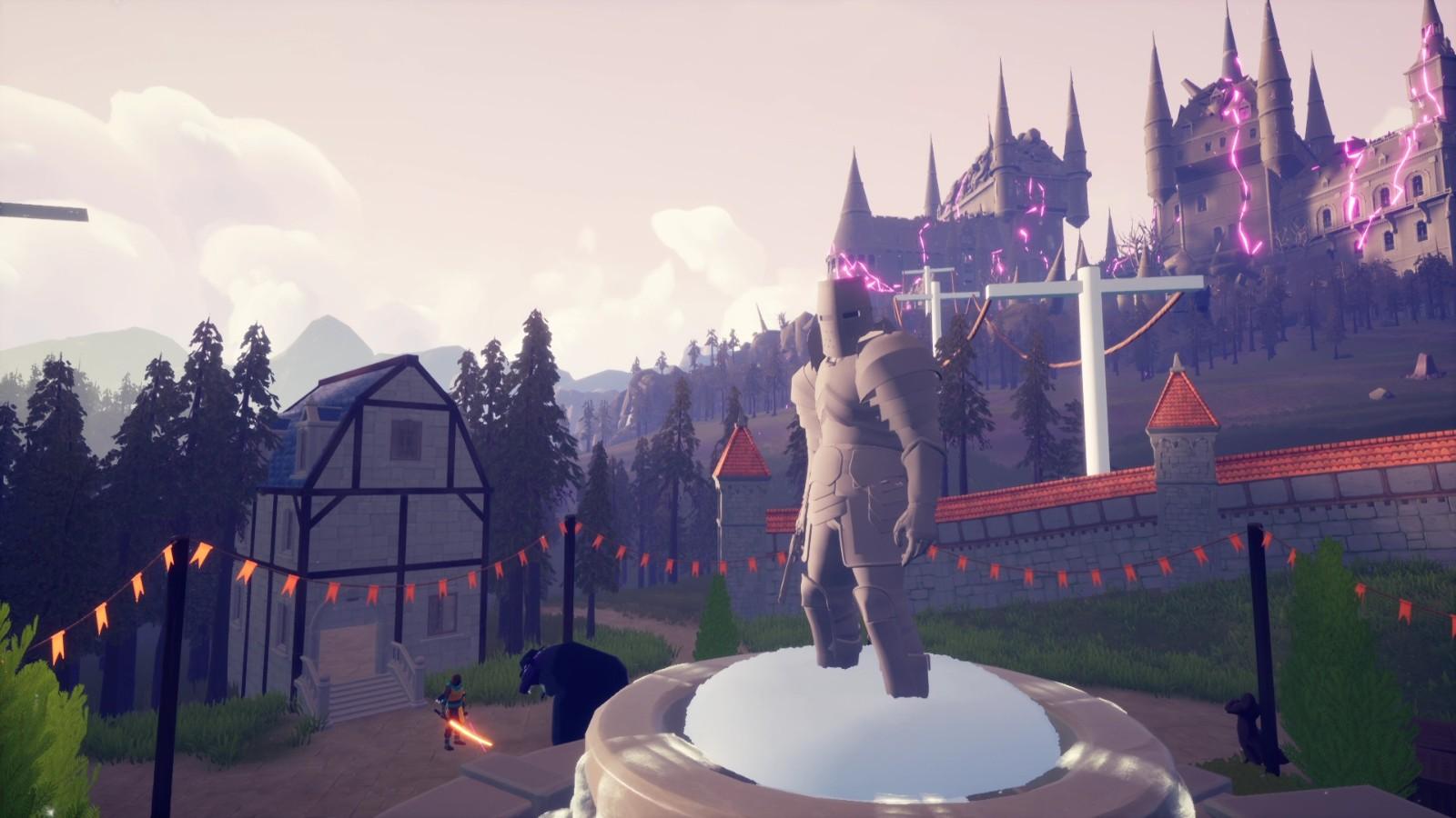 类魂新作《Holomento》上架Steam 死亡后无法复活