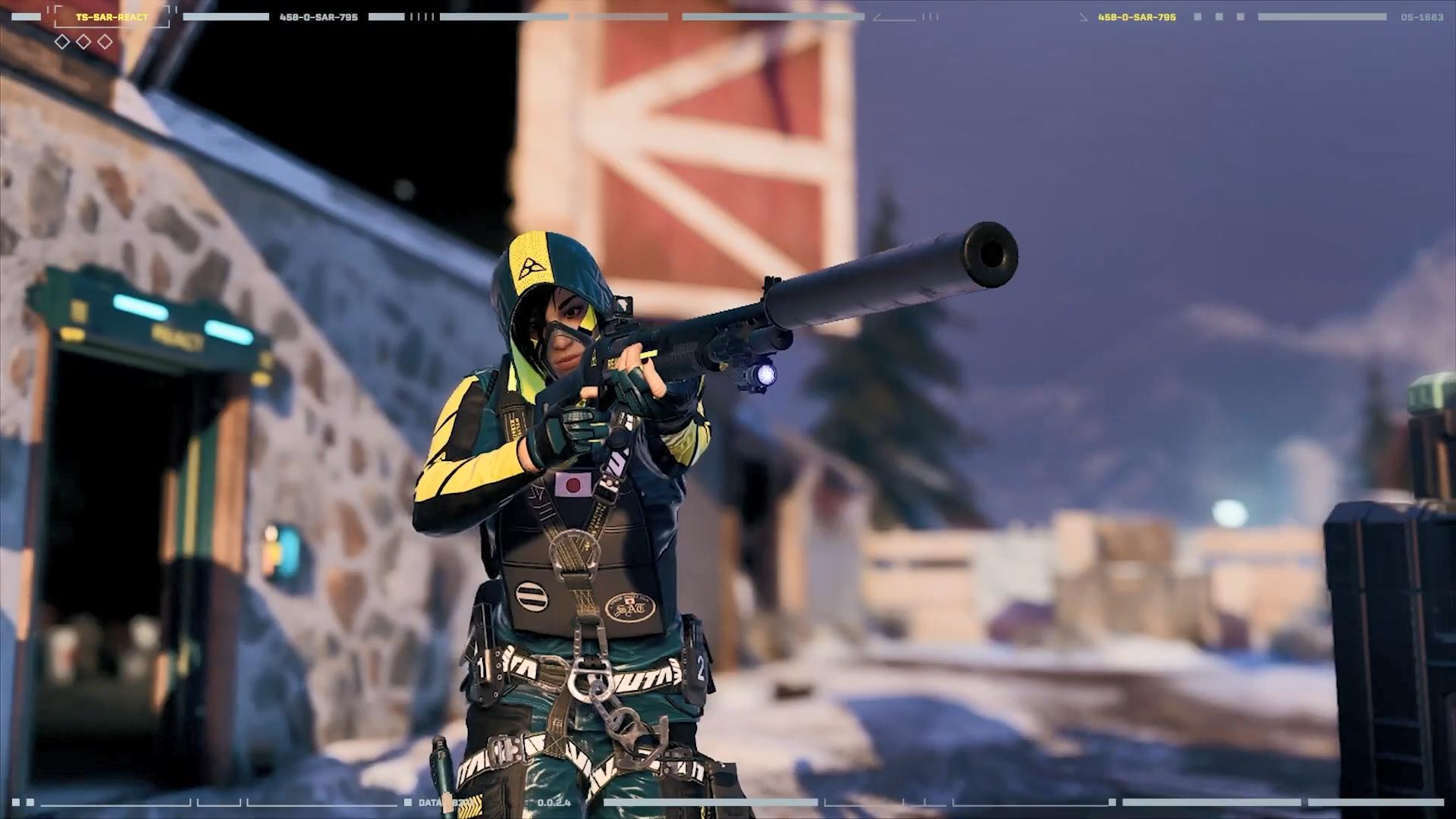 《彩虹六号:异种》新干员HIBANA介绍 遥控引爆炸药可造成穿甲伤害