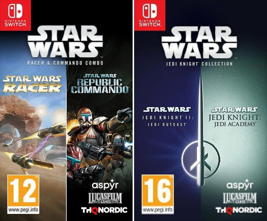 THQ两套星战游戏合集包泄露 登陆Switch及PS4
