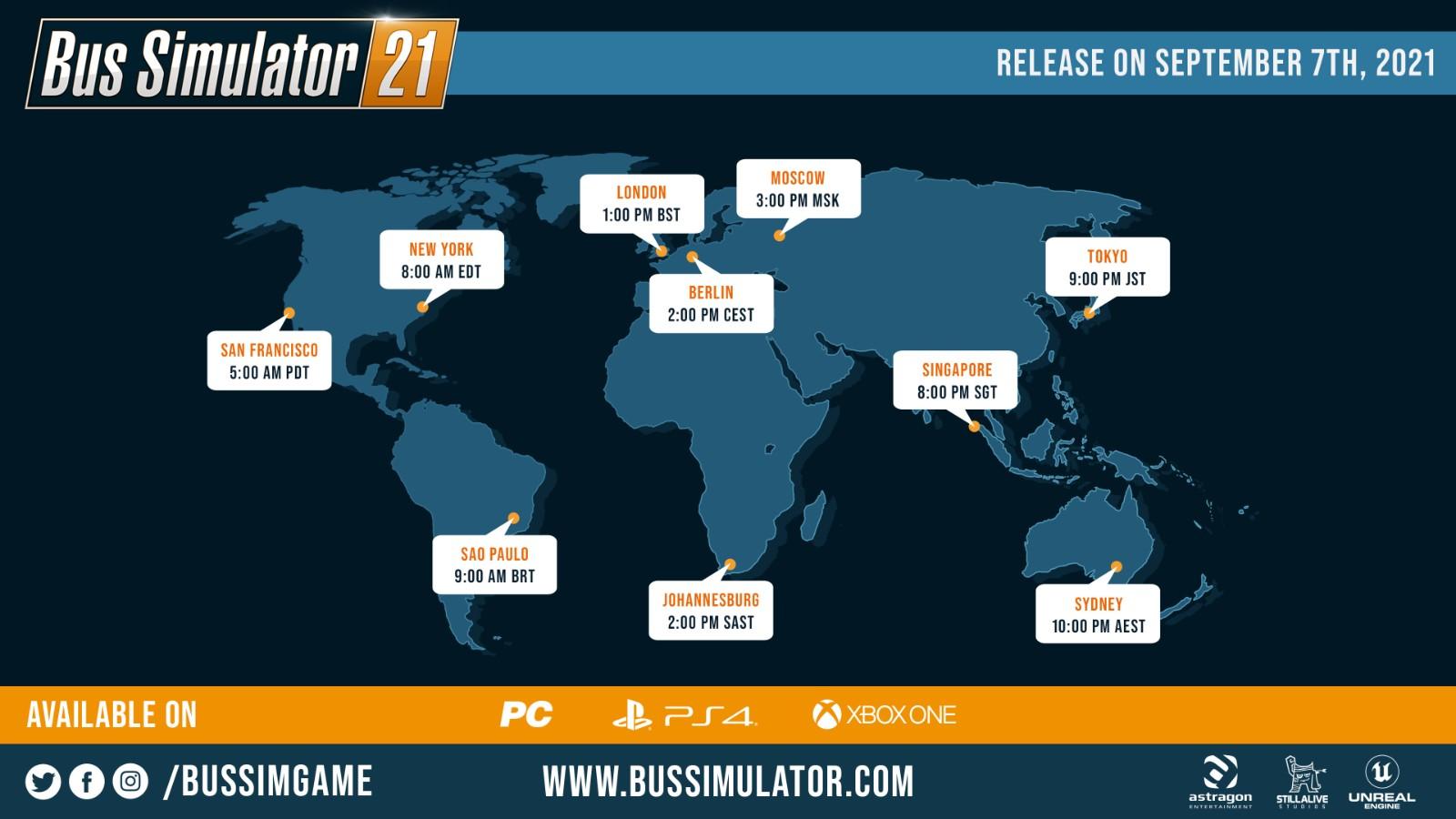 《巴士模拟21》Steam现已解锁 国区售价195元