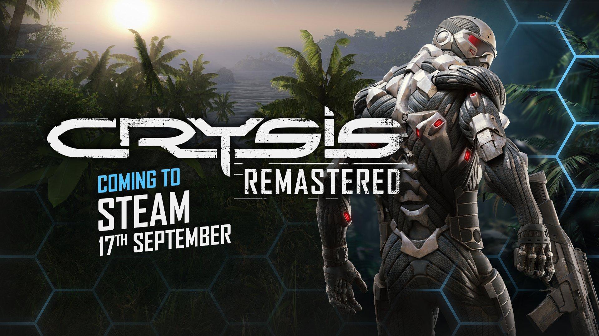 官宣:《孤岛危机:复刻版》9月17日登陆Steam