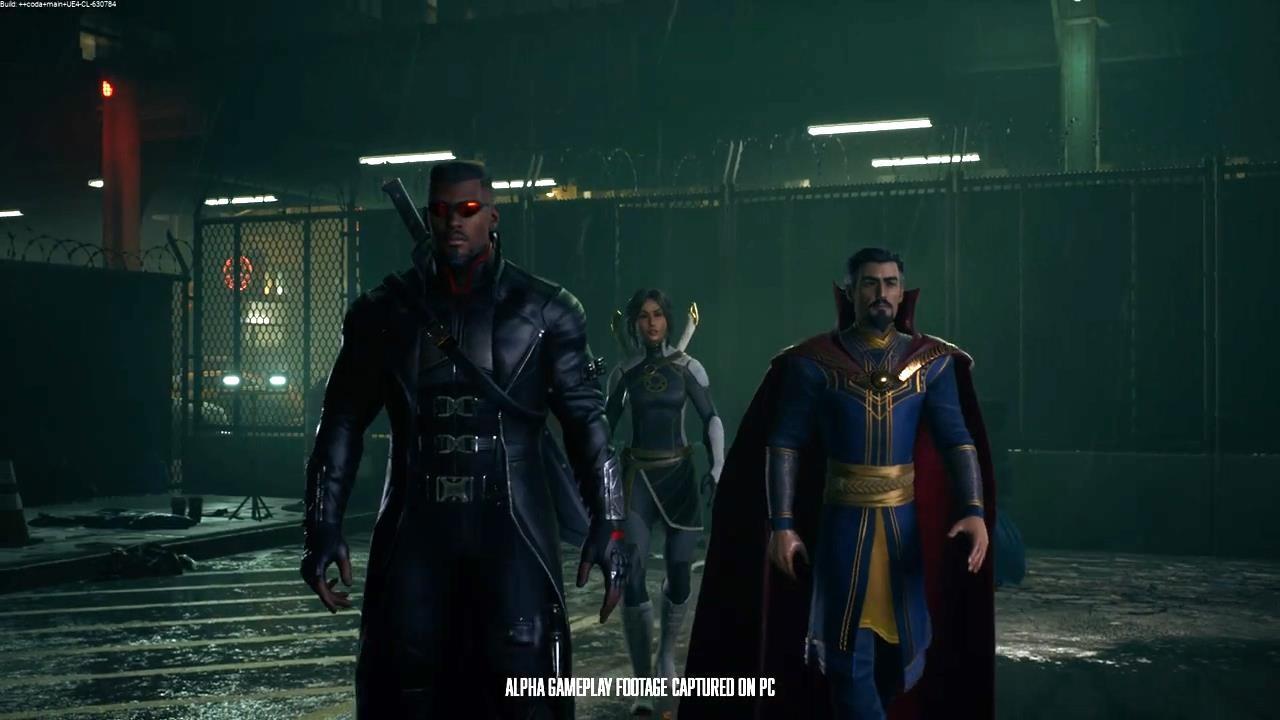 《漫威暗夜之子》新演示 金刚狼与猎人大战剑齿虎