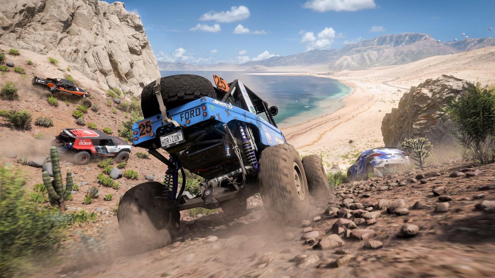 《极限竞速:地平线5》首发超400款汽车 战役20小时