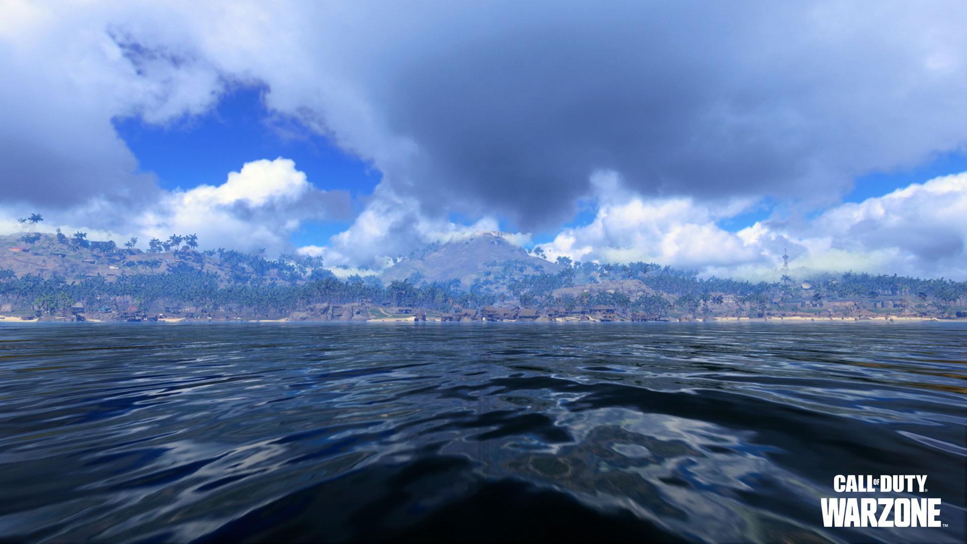 《使命召唤:战区》新太平洋地图首曝预告