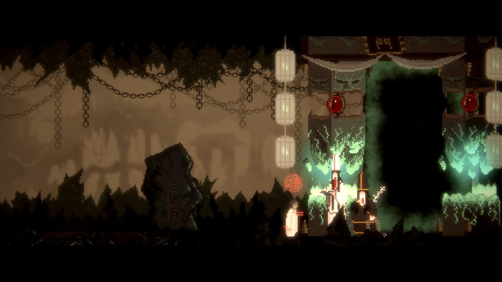 水墨风2D像素游戏《山海旅人》本体售价52元 将于9月10日正式发售