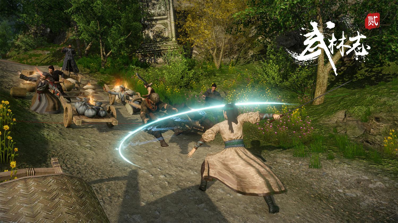 Steam武侠游戏《武林志2》更新爆料 击杀NPC或招来四大名捕围攻