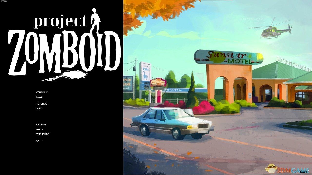 《僵尸毁灭工程》新的主题界面MOD
