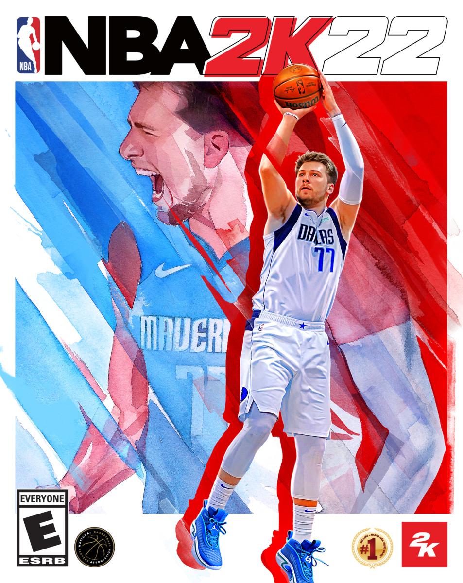 2K基金会翻新《NBA 2K22》封面明星之一东契奇家乡球场 设计包含77号球衣细节