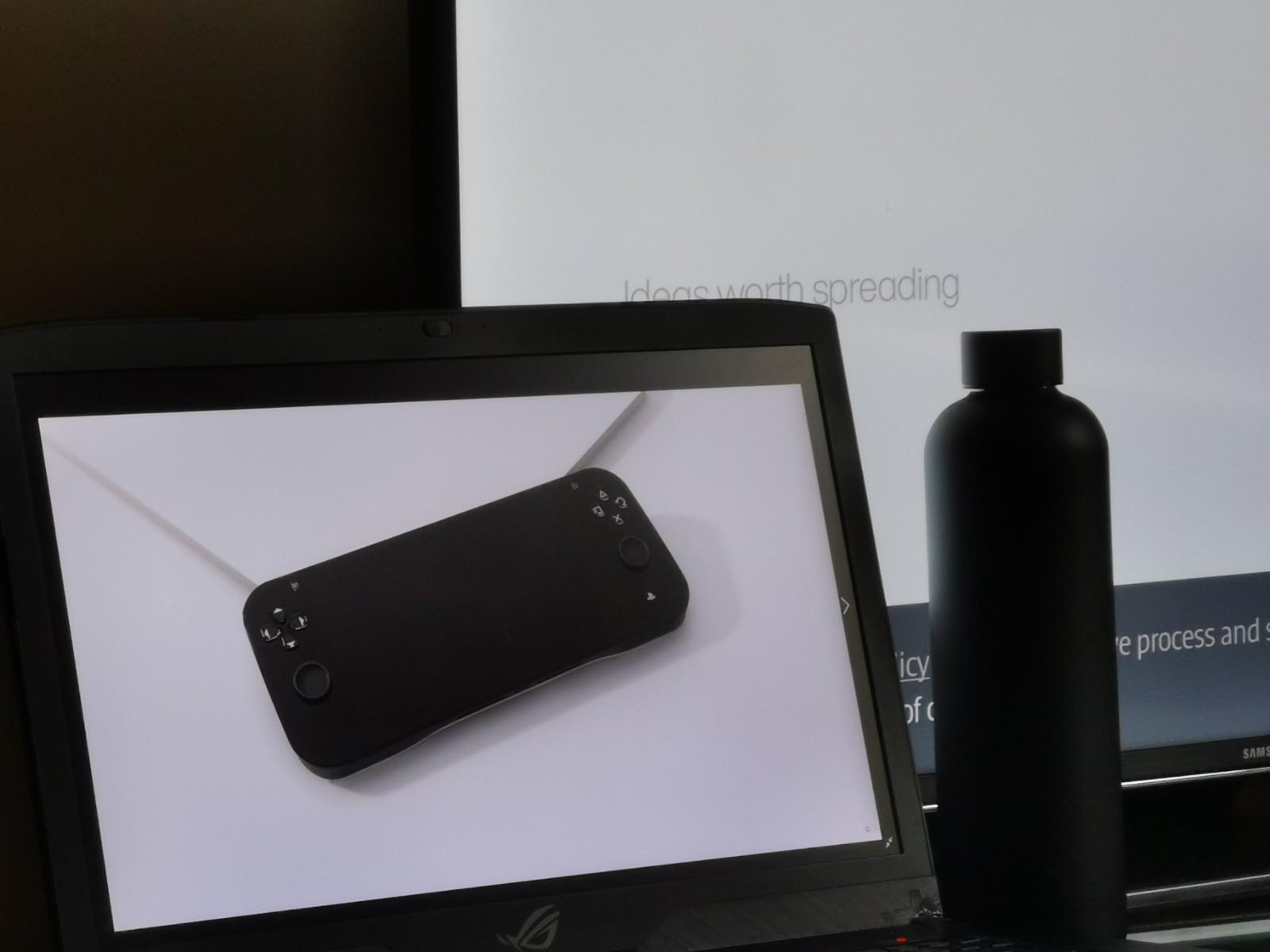 饭制新版PSP渲染图 外形有点类似Switch