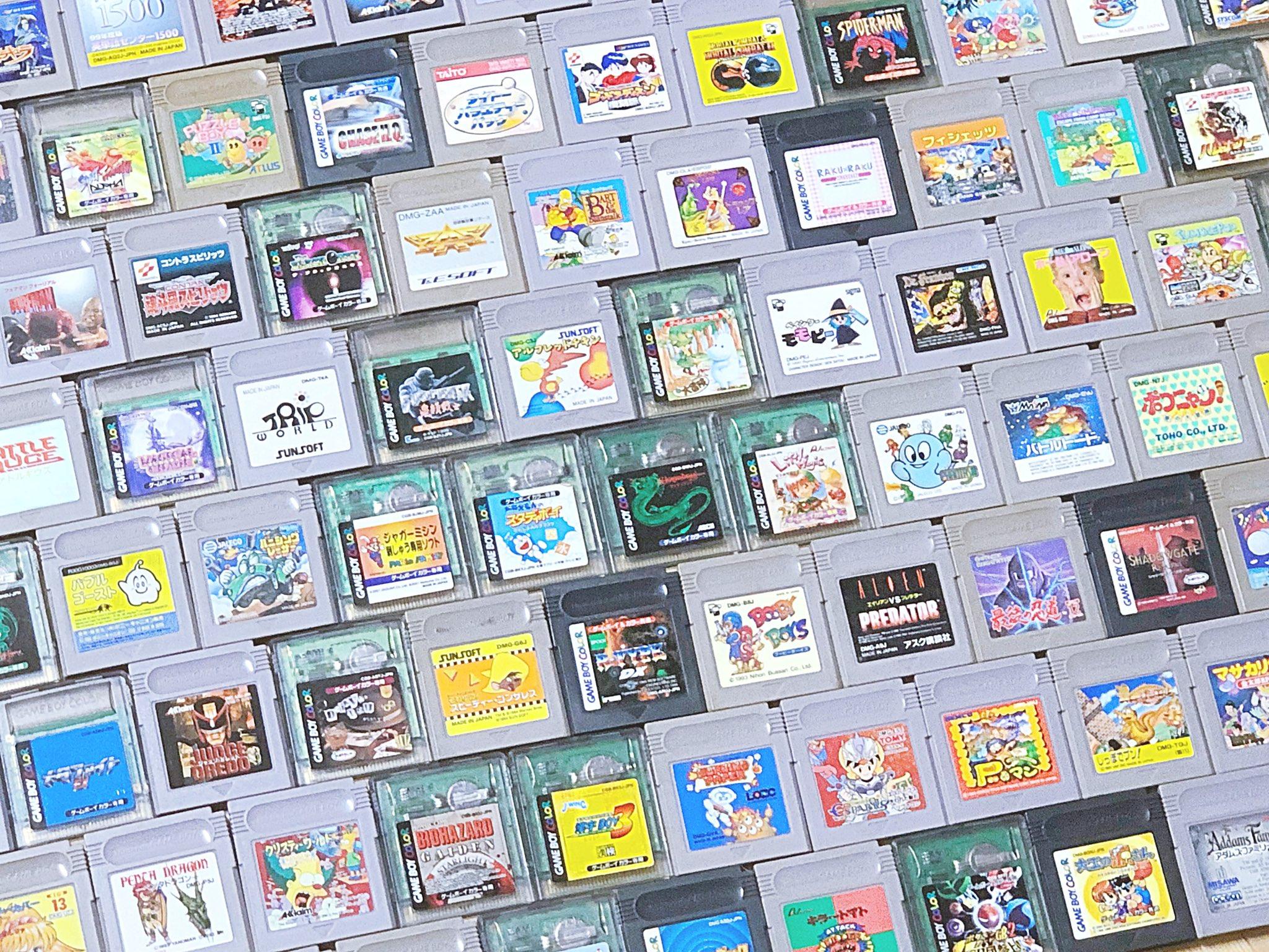 日本高玩伟业达成 GB已上市全1244部游戏收集完成