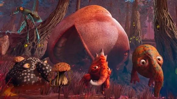 奇异怪物冒险游戏《永恒圆柱》本月发行 探索陌生又诡异的世界