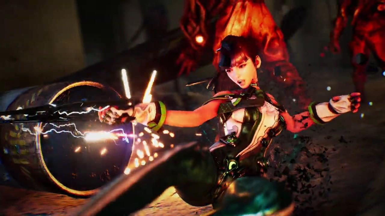 韩国高速动作游戏《夏娃计划》公开PS5实机视频
