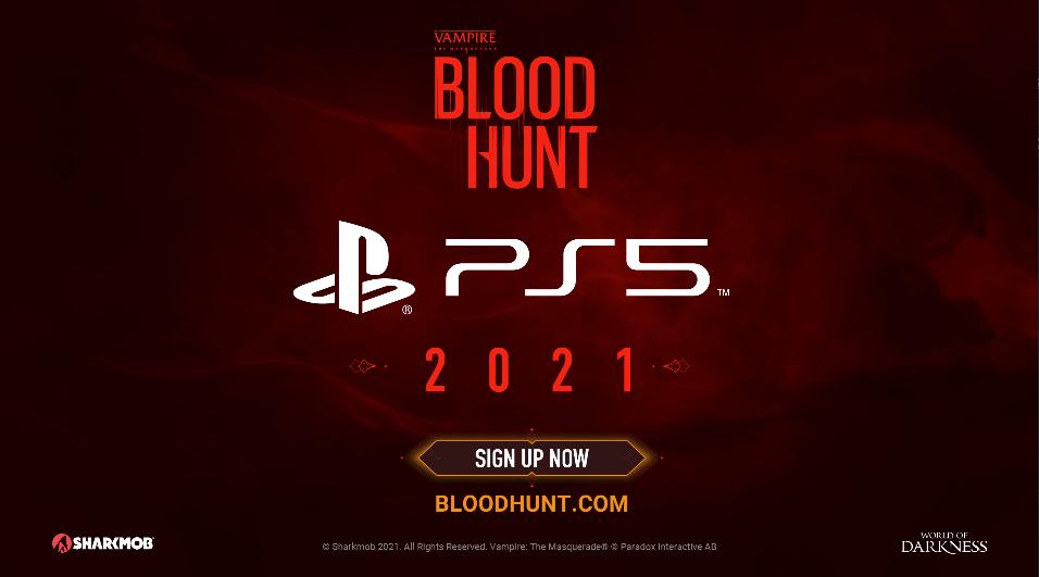 《吸血鬼:避世血族 血猎》将于2021年内登陆PS5主机