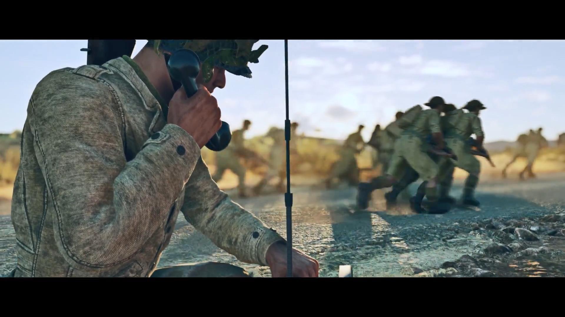 《应征入伍:突尼斯之战》封闭测试宣传片 PS5平台现已开启