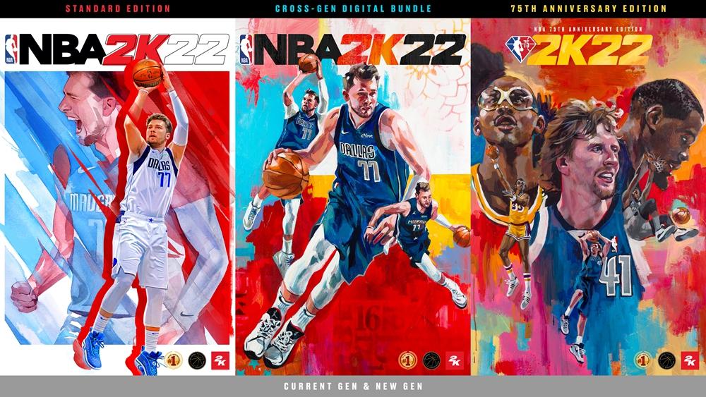 随心所欲:《NBA 2K22》现已全球发布