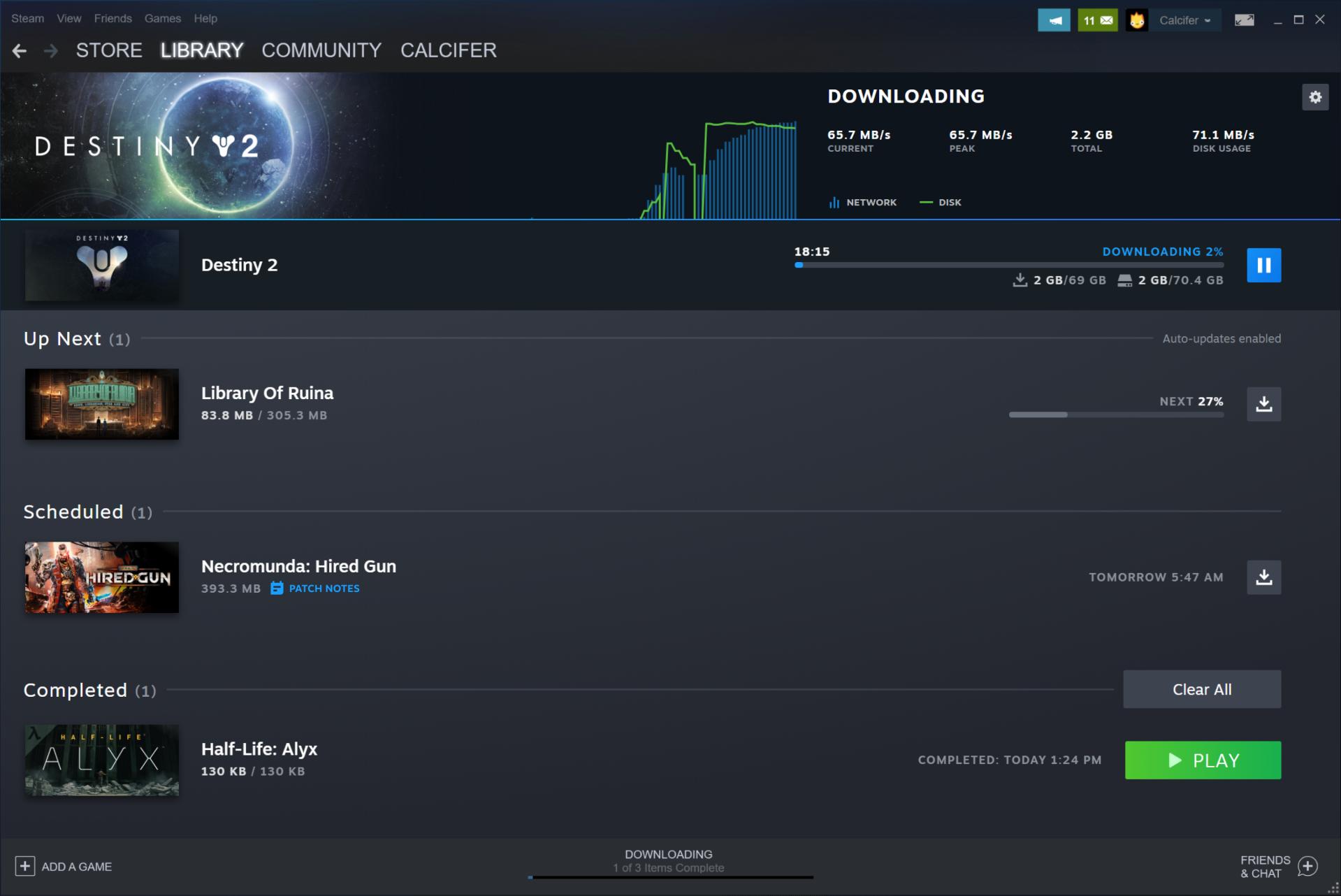 Steam客户端更新下载页面 硬盘空间管理更加轻松插图1