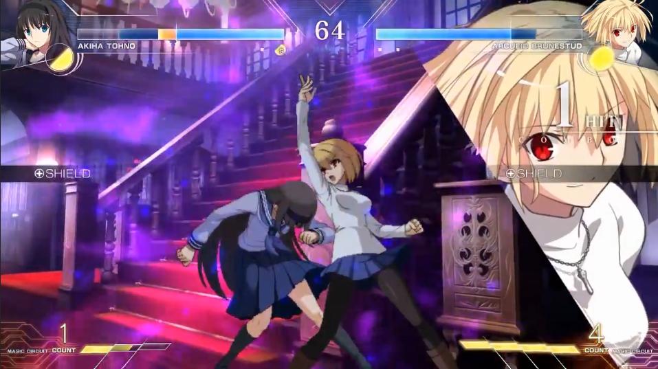 《月姬格斗:Type Lumina》越野秋叶vs爱尔奎特对战演示插图11