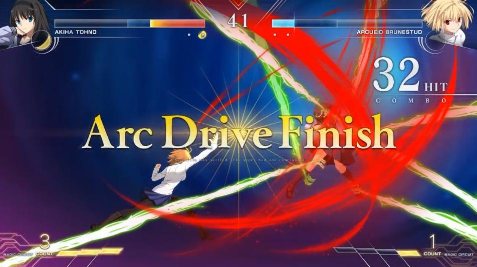 《月姬格斗:Type Lumina》越野秋叶vs爱尔奎特对战演示插图13