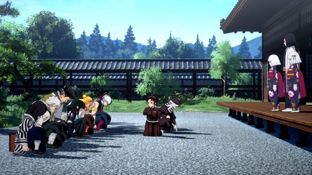 《鬼灭之刃:火神血风谭》新截图 展示单人游戏模式