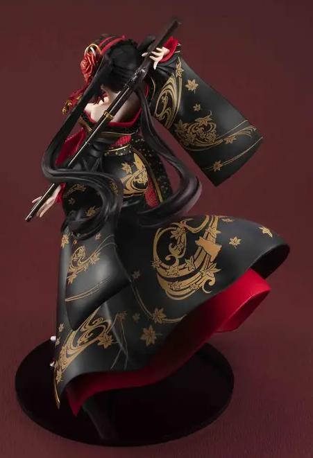 《约会大作战》人气女主时崎狂三最新手办 花魁装扮美艳动人