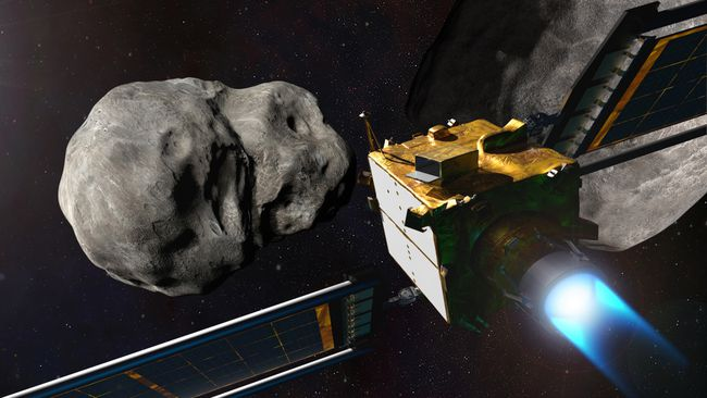 为防地球毁灭 NASA拟用飞船撞击小行星攒经验