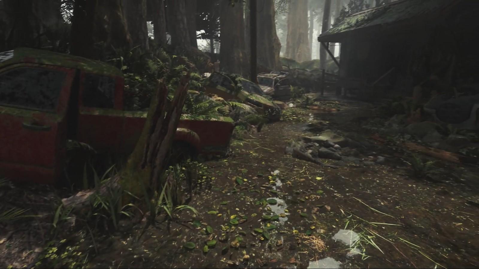 玩家用虚幻5自制《最后的生还者2》场景展示 画面很出彩