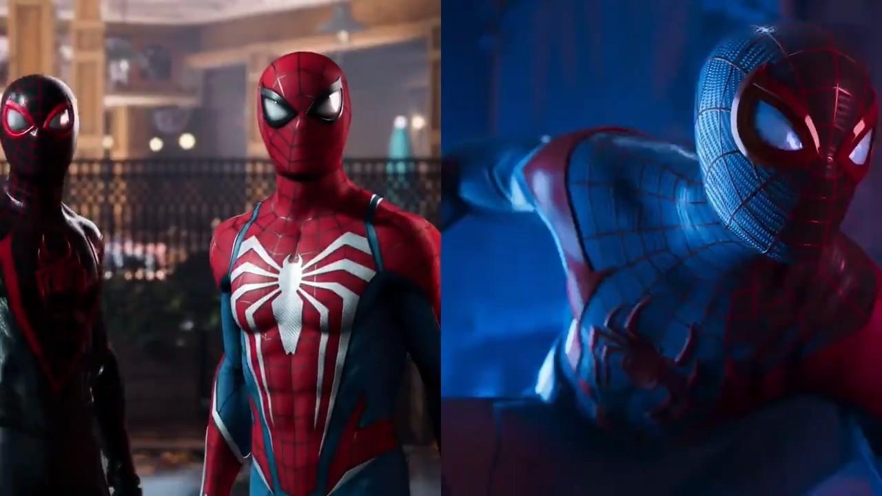 《漫威蜘蛛侠2》首支预告非CG 而是引擎内即时渲染插图5