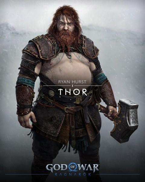 《战神:诸神黄昏》索尔是大肚腩 制作人回应:不能老是肌肉男插图1