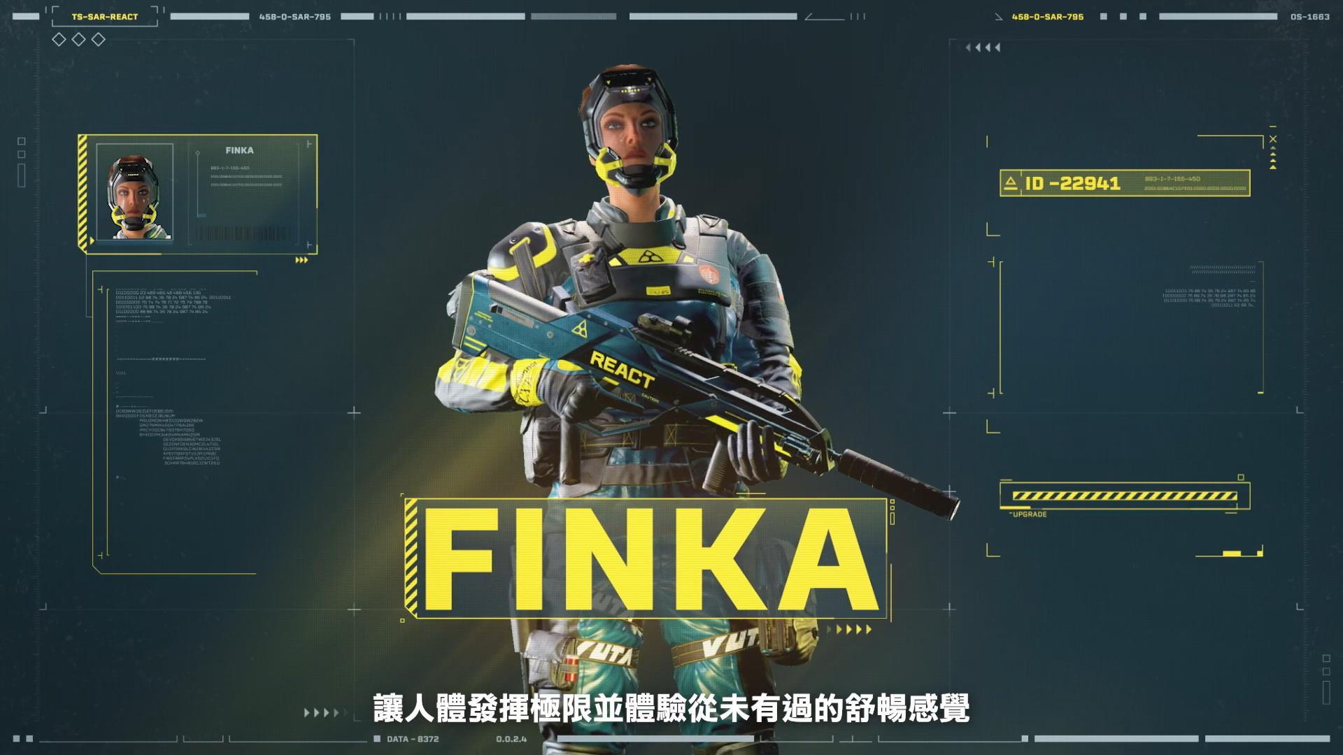 《彩虹六号:异种》新干员FINKA介绍 可复活倒地队友