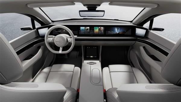 索尼概念车VISION-S未来计划能搭载PS5