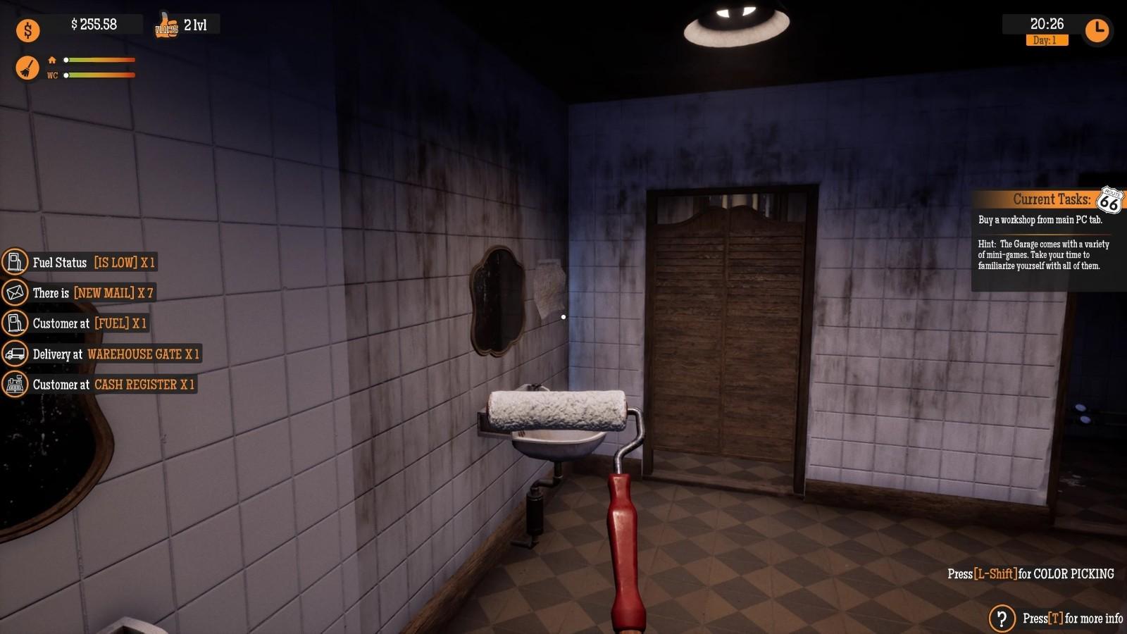 模拟新作《加油站大亨》9月16日登Steam抢先体验插图9