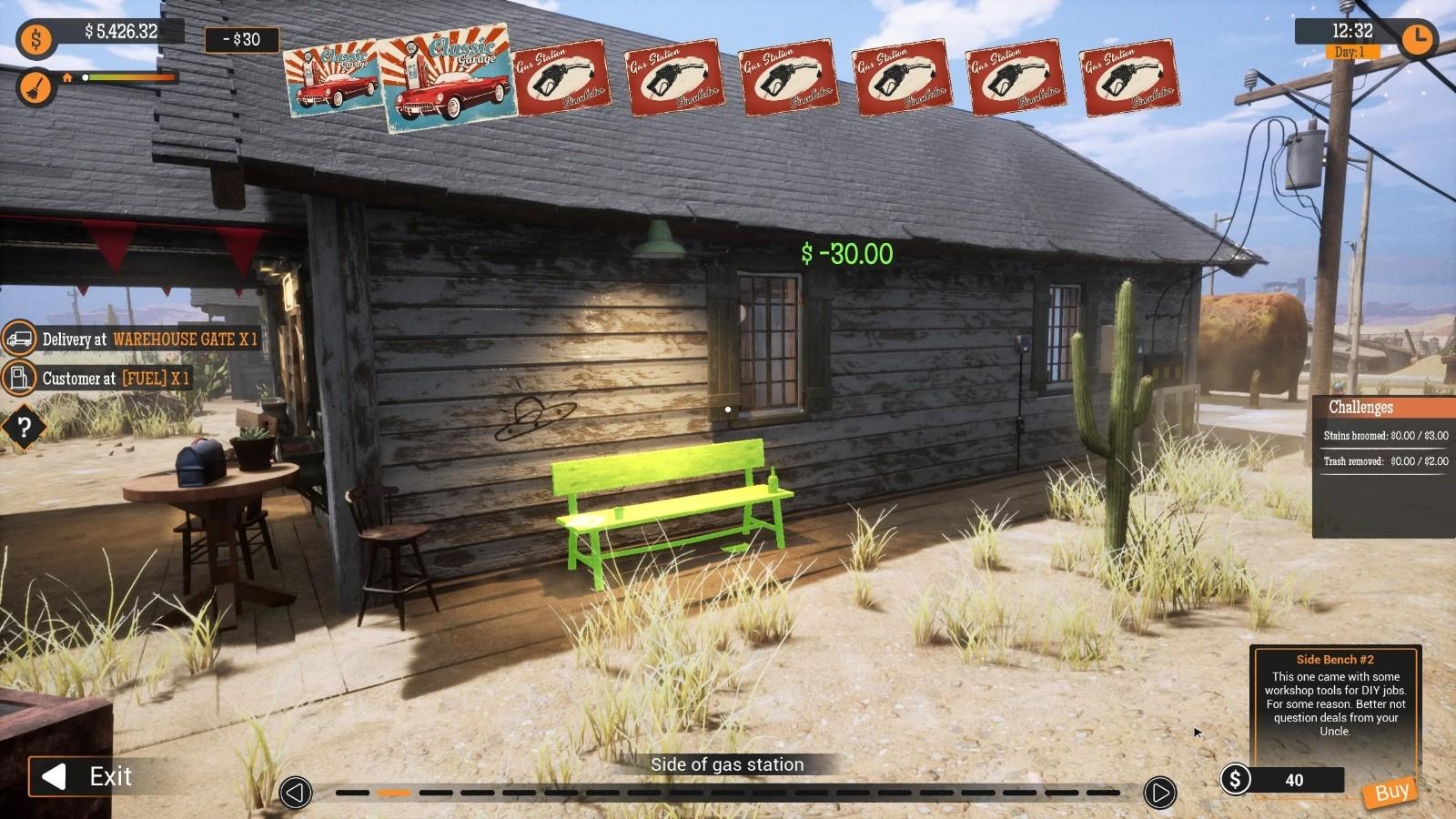 模拟新作《加油站大亨》9月16日登Steam抢先体验插图15