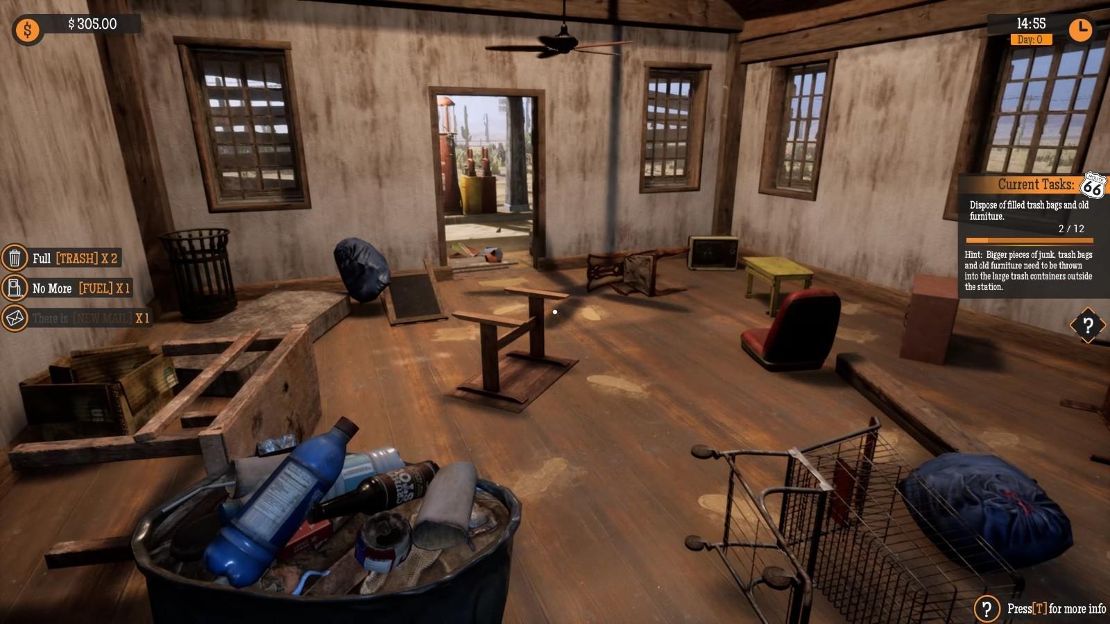 模拟新作《加油站大亨》9月16日登Steam抢先体验插图17