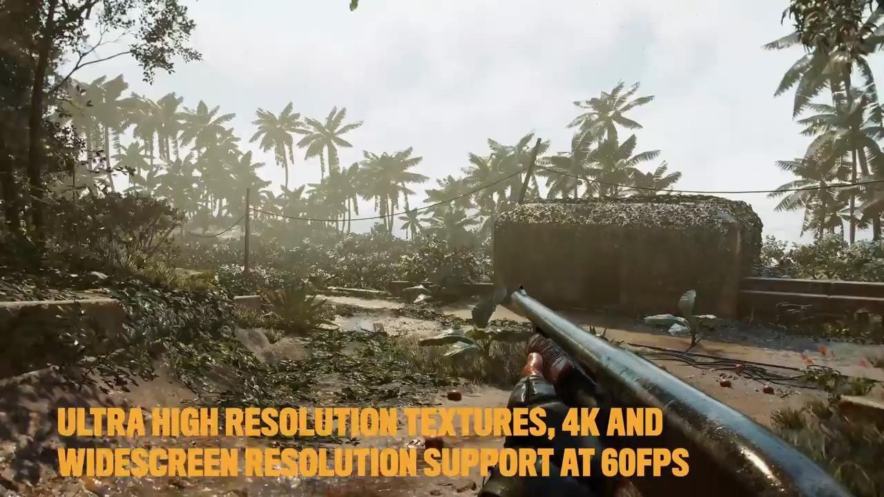 《孤岛惊魂6》AMD特性演示视频 画面超赞很真实